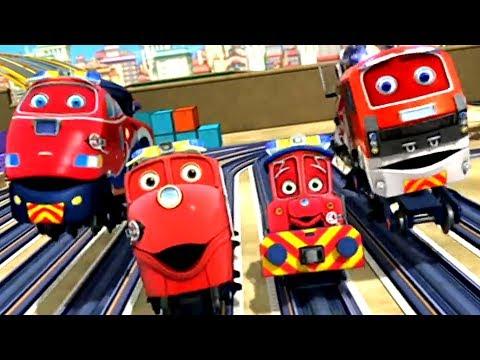 Chuggington (US) - Chug Patrol Song - Karaoke - Cartoons for Kids!