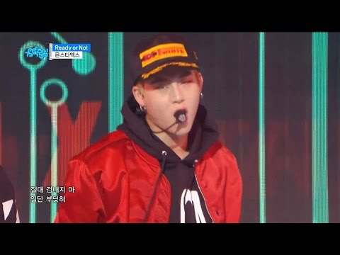 【TVPP】 MONSTA X – Ready Or Not , 몬스타엑스 – 레디 올 낫 @Comeback Stage, Show Music Core