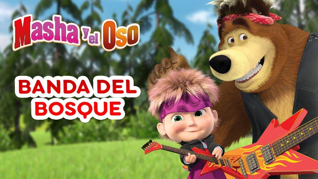 Download 🐻 Masha y el Oso 👱♀️ Banda del bosque 🐼🌲