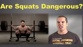 Are Full Squats Dangerous?