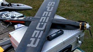 """400 Kmh 248 Mph F3S Speeder HJK Pilf X 1.1 an 8s 7"""" x 12"""" HJK Speedwings *1080p50fpsHD*"""