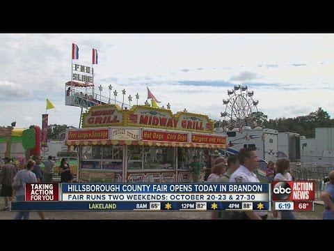 Hillsborough County Fair opens Thursday in Brandon