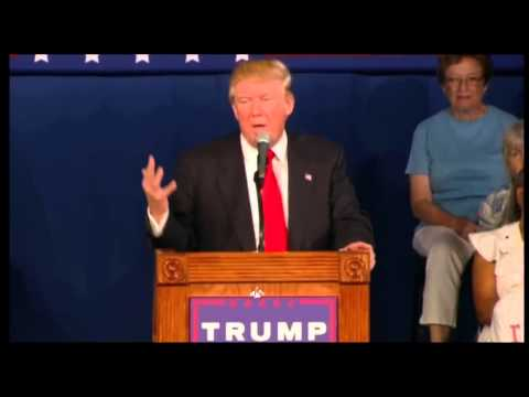 Donald Trump Gives Out Lindsey Graham's Cell Number at South Carolina Rally