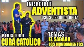 Adventista recibe clase bíblica de cura católico