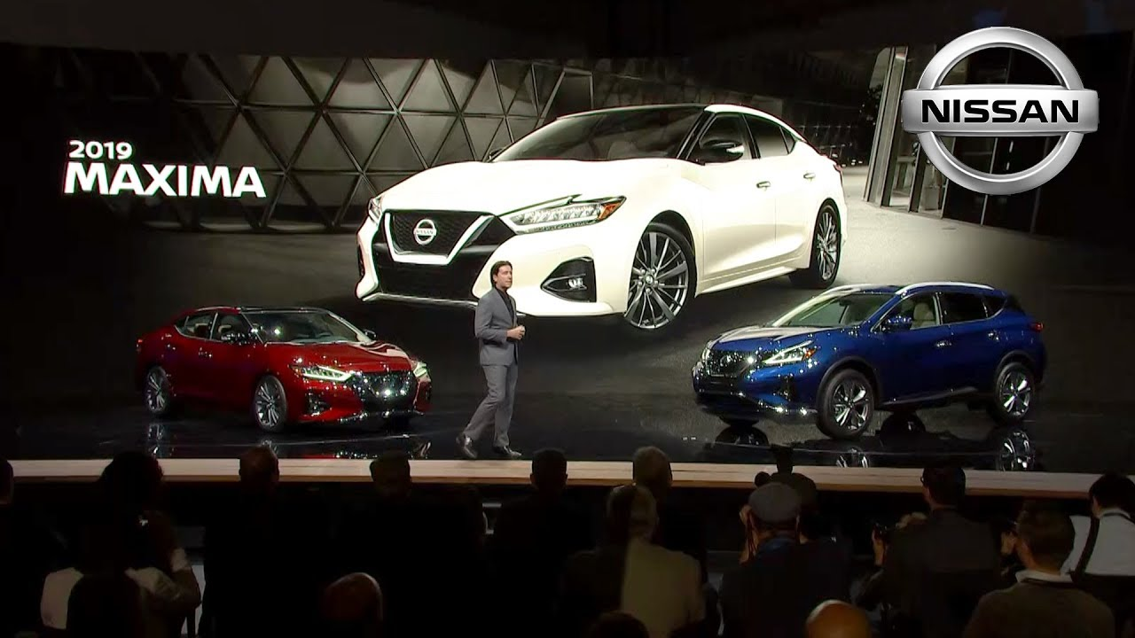 Nissan Los Angeles >> 2019 Nissan Maxima Reveal At The Los Angeles Auto Show