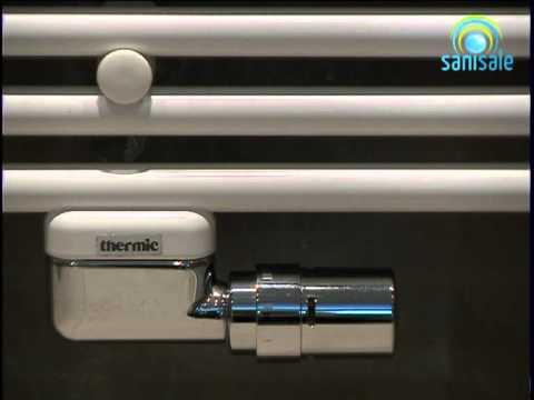 Thermic Radiator Ontluchten.Thermic Design Ventielset Haaks Met Thermostaatknop Youtube