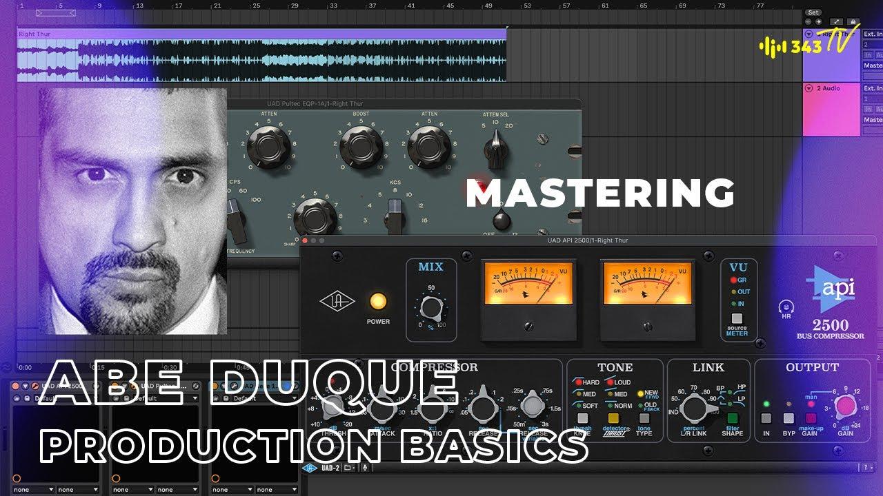 Production Basics with Abe Duque | 343 TV
