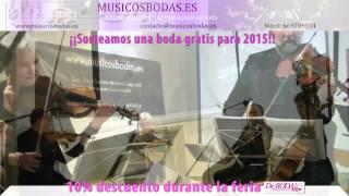 Música bodas Valladolid. Buongiorno Principessa . www.musicosbodas.es/valladolid.html