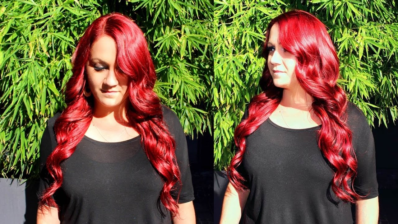 How To Make A Super Flat Sew In Using Rihanna Red Brazilian Remy