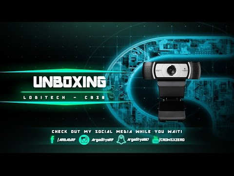 Unboxing Webcam Gaul - Logitech C930 [Indonesia]