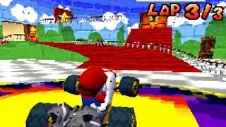 Mario Kart DS Deluxe - Mario 64 Custom Track (Mod)
