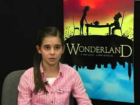 Carly Rose Sonenclar Interview on Wonderland at 11 years old