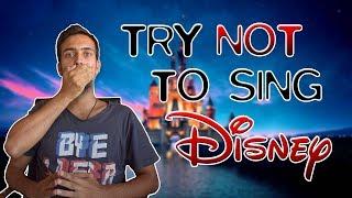 Προσπαθώντας να μην τραγουδήσω Disney;!