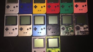 Gameboy Pocket Collection