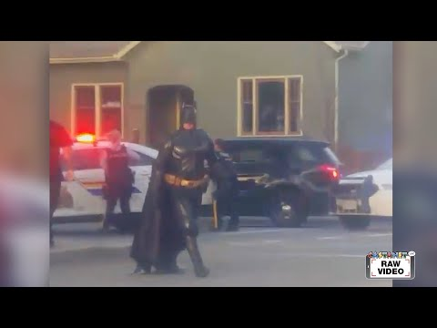 Brody - Batman Shows Up At A Standoff With Police