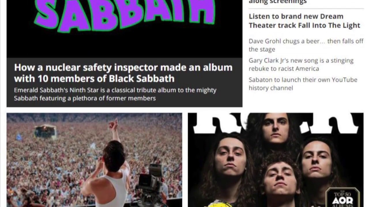 Classic Rock Magazine (Greta Van Fleet) Emerald Sabbath She's Gone Video  Premiere