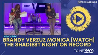 #Verzuz: Brandy vs. Monica SHADIEST MOMENTS
