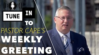 Pastor Cape's Greeting (Trumpet-Turn Your Eyes Upon Jesus)