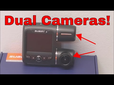 Dual Camera Dash Cam By Suaoki Review And Footage - 동영상
