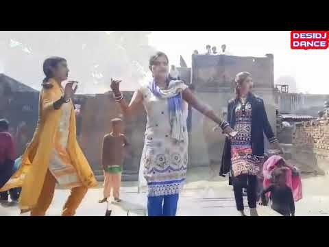 GenYoutube net Maja Mar Lijiye Desi Dj Dance On Bhojpuri New Song Super Hit Dehati Village Dance Vid