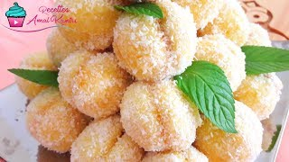 Repeat youtube video حلوة مشمشة الاقتصادية بمذاق مميز  من ألذ الحلويات و أسهلها | حلويات العيد