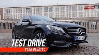 Im Test 2015 Mercedes Benz C-Klasse  |  C220 BlueTec im Fahrbericht | Test Drive | Road Test