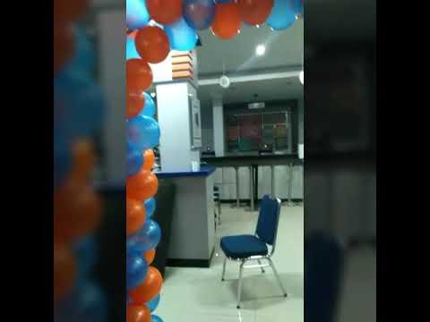 dekorasi ulang tahun kantor - youtube