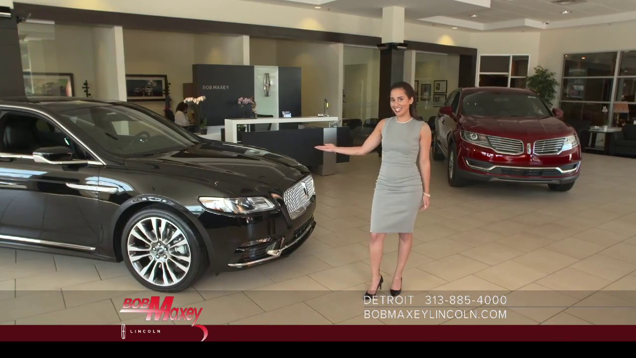 Bob Maxey Lincoln >> Bob Maxey Lincoln Commercial April 2017 Continental
