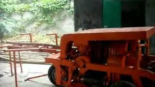 With A Belt Of Wood Peeling Machine /