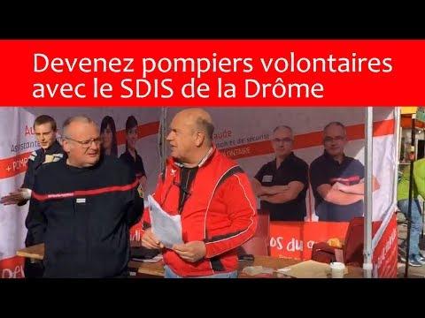 le SDIS de la Drôme veut sensibiliser hommes et femmes à s'engager en tant que sapeurs-pompiers volontaires