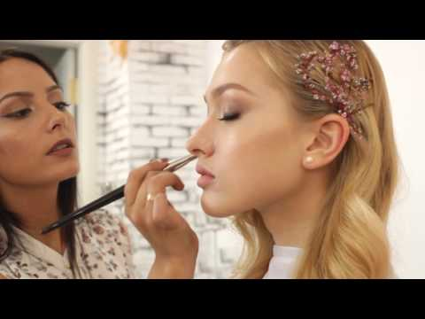 Уроки макияжа.Свадебный макияж.Макияж невесты.Нежный макияж.