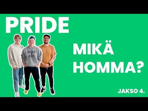 POIKAST I Pride - mikä juttu?