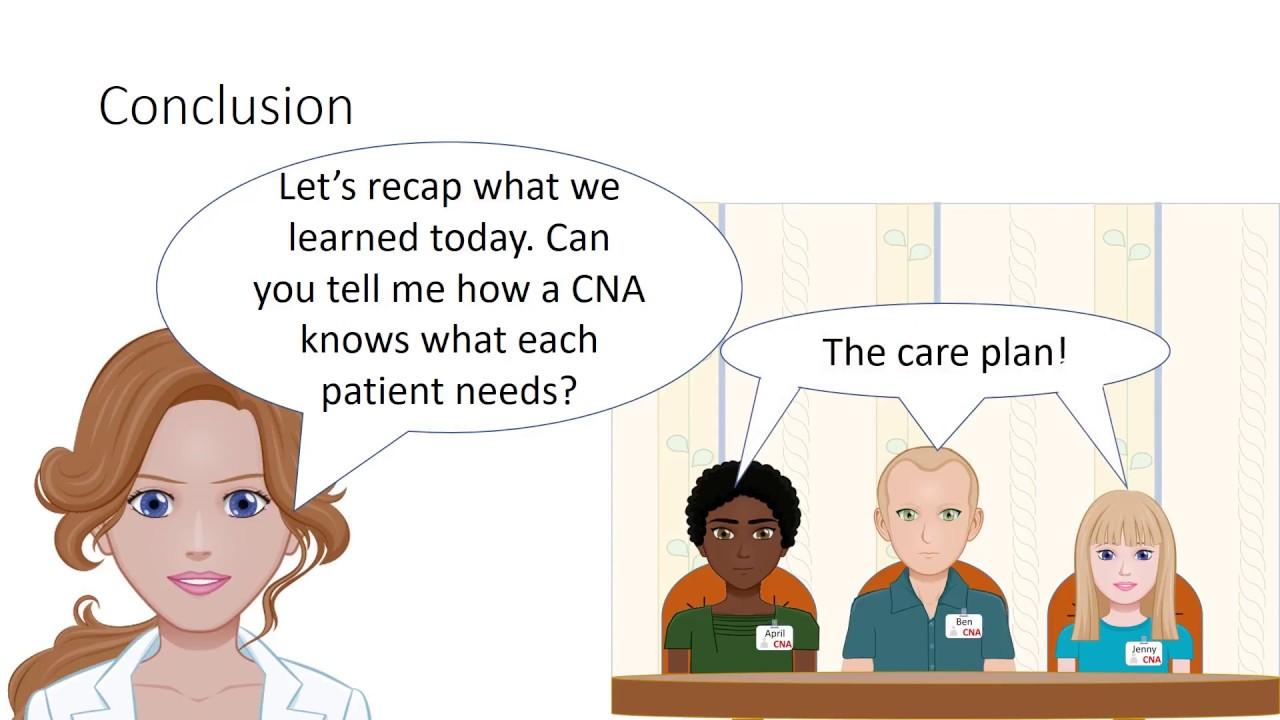 The Care Plan The Cna Youtube