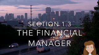 Roles of Financial Manager