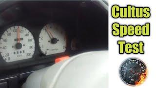 suzuki Cultus Speed Test
