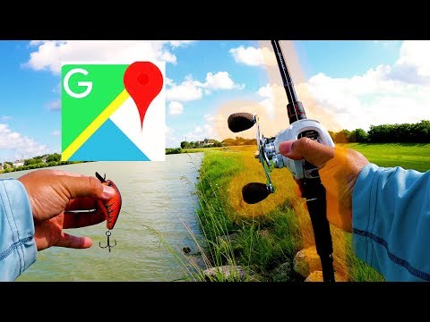Using Google Maps To Find Fishing Spots In Houston Texas
