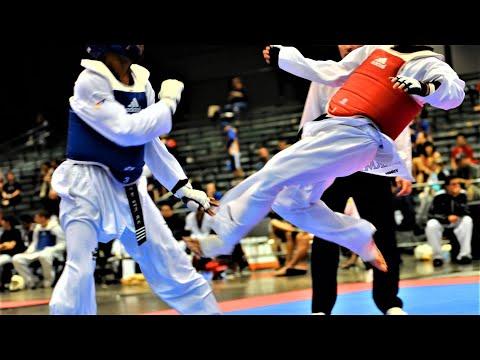 TaeKwonDo WTF Master Andre Lima Kicking