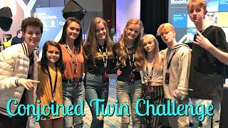 Conjoined Twin Challenge at Playlist Live 2019! Who will win?