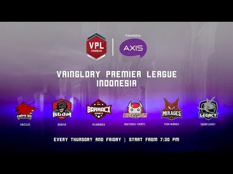 VPL INDONESIA 2018 : ROUND 5   Week 3 Day 1