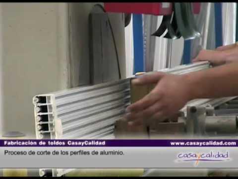 Fabricacion de toldos corte de aluminio casaycalidad for Tubos de aluminio para toldos