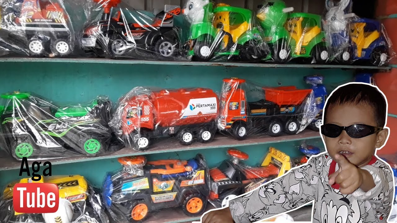 Mainan Anak Laki Laki Mobil Mobilan Dan Motor Motoran Youtube