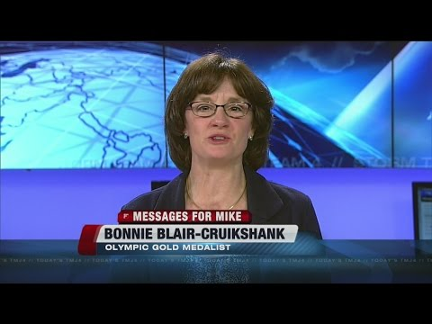 Messages for Mike: Bonnie Blair-Cruikshank