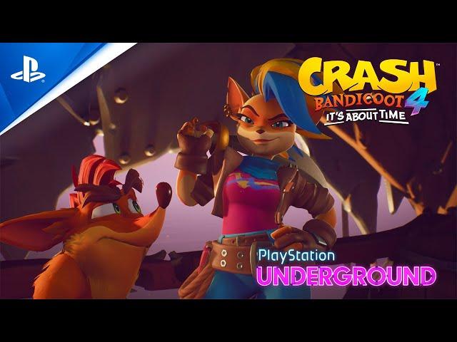 Crash Bandicoot 4 - Tawna Gameplay Reveal | PlayStation Underground