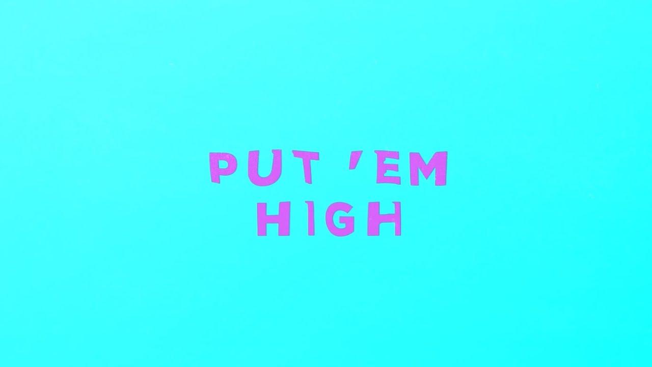 AJ Moreno - Put 'Em High (Official Lyric Video)