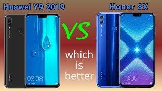 Huawei Y9 2019 vs Honor 8X | Full comparison