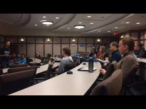 Yousef Rabhi addresses University of Michigan College Democrats on eve of 2016 election