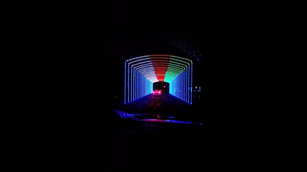 Christmas Lights Hank Aaron Stadium 2015 - YouTube