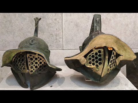 Gladiator Museum, Santa Maria Capua Vetere, Caserta, Campania, Italy, Europe
