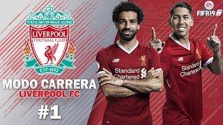 """The Reds de Klopp y Salah"" #1   FIFA 19 Modo Carrera: Liverpool FC   Borone"