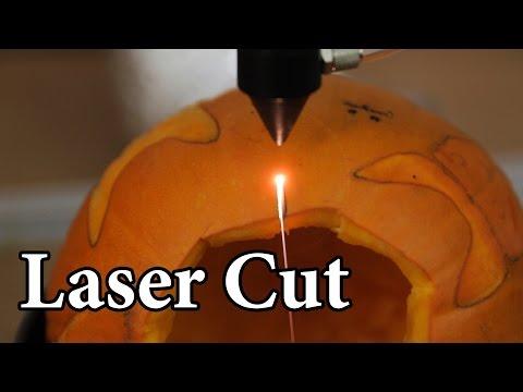 Can a Laser Cut Pumpkins?